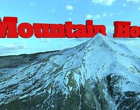 3D model Mountain Hood