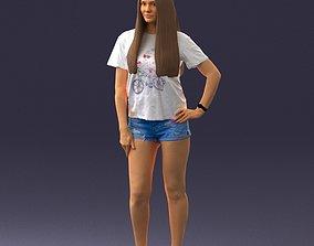 3D model glamour woman 0519