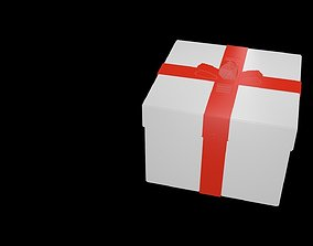 Gift voxel 3D model