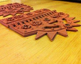 Steam Punk Hinge 3D printable model