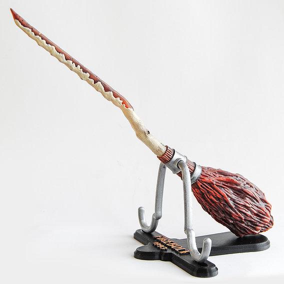 Firebolt Broomstick 3D Printable Model - Harry Potter