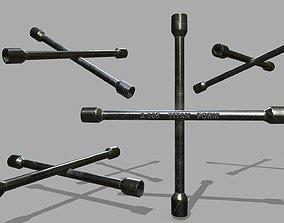 3D model Lug Wrench lug