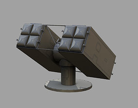 Sea Sparrow Launcher Mark 29 3D model