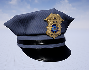 Police Clothing Pack 3D asset