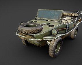Schwimmwagen Volkswagen Typ 166 3D model