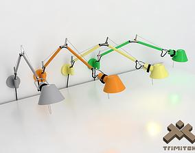 Artemide Tolomeo Wall lamp 3D