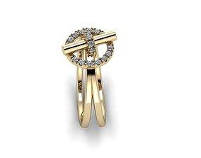 Jewelry Ring engagem 3D printable model
