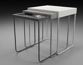 3D model IKEA TABLE SET-Nesting tables