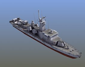 3D Goteborg Missile Boat russia