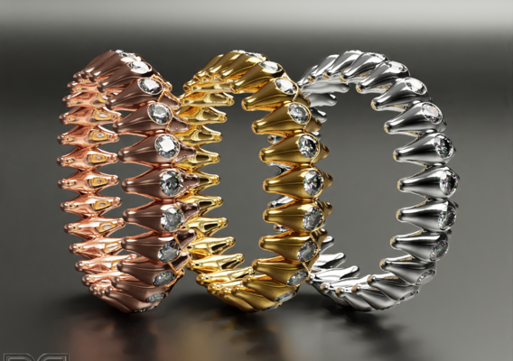 Stunning new design rings collection2  (10 sizes for each design)