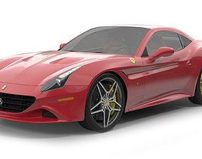 3D model Ferrari California T 2015 Simple Interior