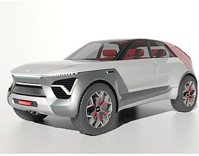 Kia Habaniro Concept SUV 3D model