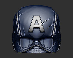 3D printable model Captain America Helmet Avengers 2
