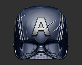 Captain America Helmet Avengers Endgame 3D printable model