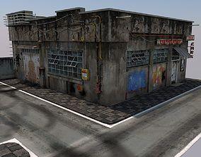 Abandoned Repairshop 3D