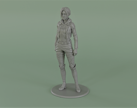 3D print model Annie Leonhardt figurine from shingeki no