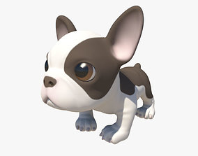 3D model Puppy with Morphs