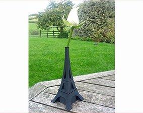 3D printable model Eiffel Bud Vase