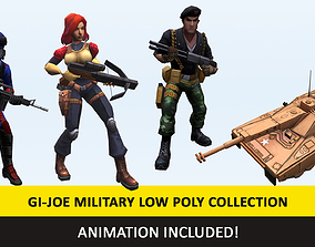 3D model Gi - Joe Military Character Animated Collection 2
