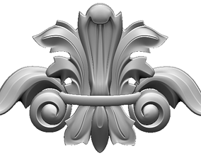 decor 3D printable model moulding