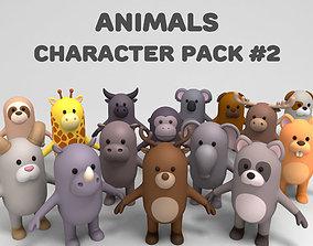 Cartoon Animals Model Pack 2