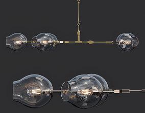 lamp Danton Home Chandelier Gravity 3D
