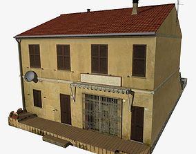 Village Home S-C 3D asset