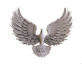 Flight of bird 3D print model