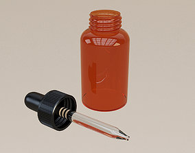 3D model Dropper Bottle