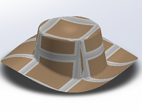 3D print model Sun Hat