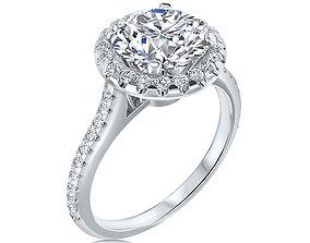 3D print model brillant rings ENGAGEMENT RING
