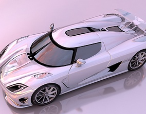 Koenigsegg Agera 3D model realtime