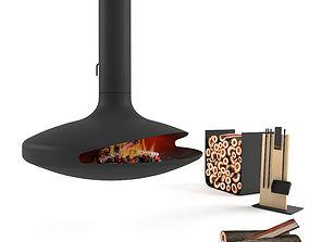 3D model Gyrofocus fireplace Focus