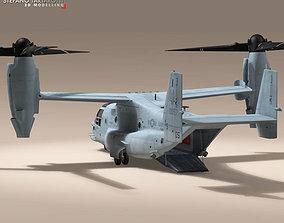 3D V-22 Osprey US Marines