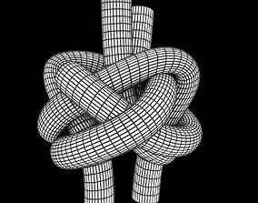 diamond knot 3D asset