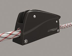 3D model Rutgerson RC 75 Rope Clutch
