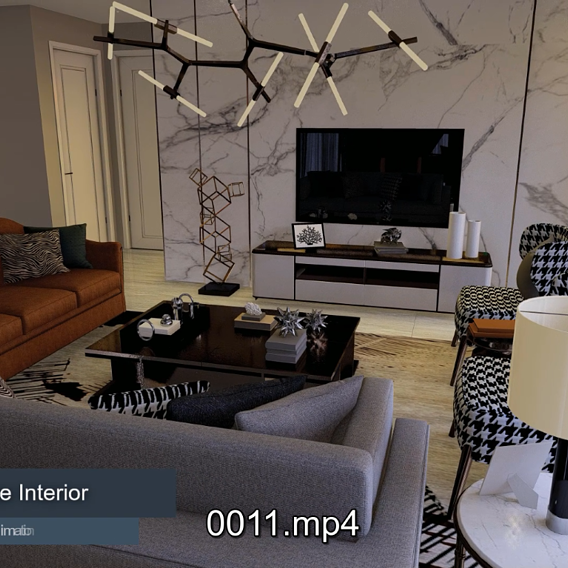 Lumion 10  Interior Animation