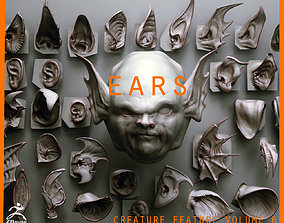 3D EARS - 40 ZBRUSH VDMs