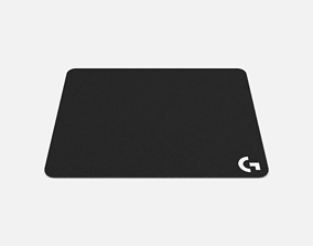 Logitech Gaming Mouse Pad 3D model realtime