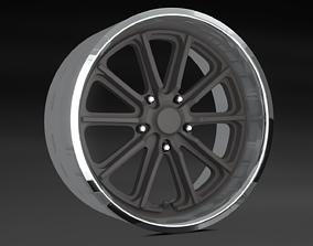 3D printable model American Racing Wheel VN 507