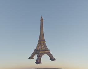 travel Eiffel Tower 3D model
