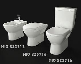 3D JIKA MIO toilet seats and bidet