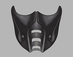 3D printable model Sub-Zero mask from Mortal Kombat 9 X 11