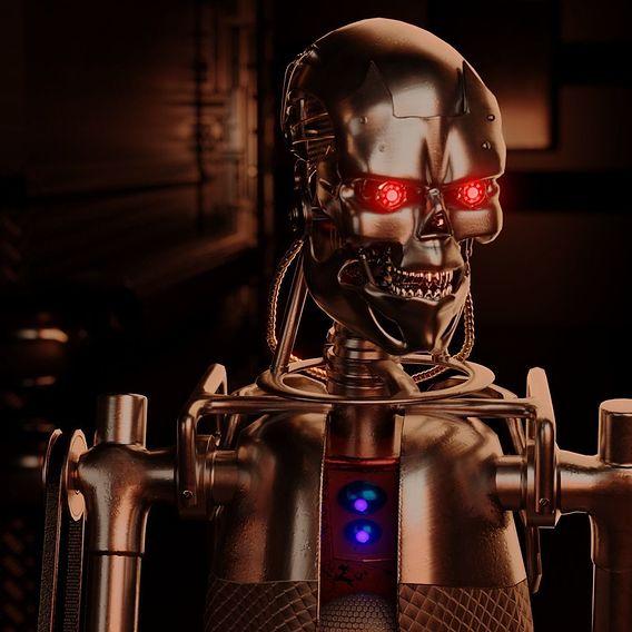 Killer Robot final render