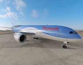 3D model Boeing 787 Dreamliner Thomson Airlines