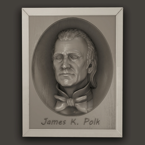 Us President James K. Polk