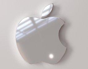 electronics 3D Apple Logo