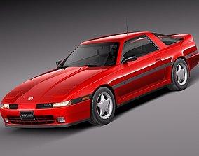 Toyota Supra Mk3 1986-1993 3D model