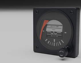 3D model F16 Backup Attitude Direction
