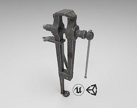 Medieval Leg Vise 3D model